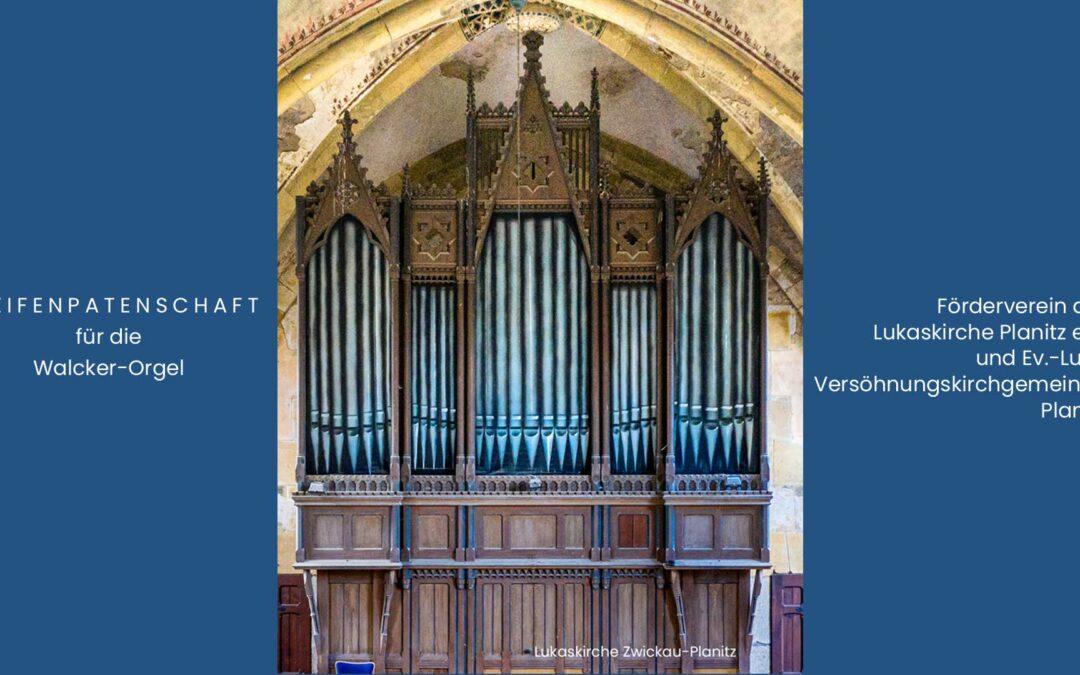 Orgelpfeifen Patenschaften