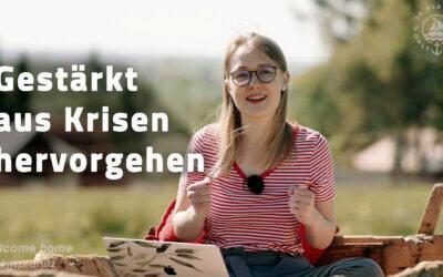 Gestärkt aus Krisen hervorgehen – JG Predigt von Hannah Trommer