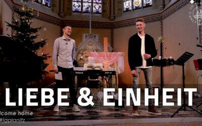 LIEBE & EINHEIT – JG Predigt zum JG ausgestalteten Gottesdienst