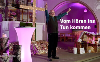 Vom Hören ins Tun kommen – JG Predigt mit Wieland Baumann
