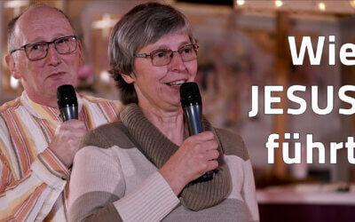 Wie JESUS führt – JG Predigt von Frank und Ina Schwinger