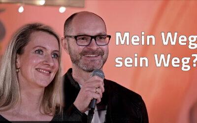 Mein Weg, sein Weg? – JG Predigt von Tobias und Luise Hertel