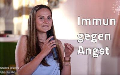 Immun gegen Angst – JG Predigt und Zeugnis von Jenni
